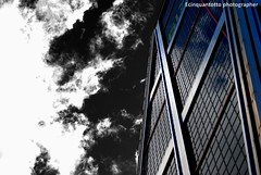 Madrid Sky (Ecinquantotto ( + 1.130.000 ...grazie !! )) Tags: architettura architecture art arte abstract bn bw blackwhite colori clouds colors d3000 dreams dinamic españa finestre geometrie geometric madrid mirrors nikon nikond3000 nuvole ombre spagna spain