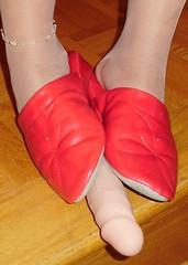 Hazel (215) (Duke of Slippers) Tags: ballet slippers shoes flats pumps mules slides ballerinas fetish