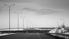 Road (konstantin.radchenko) Tags: car snow winter road tires storm driving test cold drive track ice traffic white weather season automobile conditions street vehicle nature travel outdoors transportation climate frost snowy trees border asphalt
