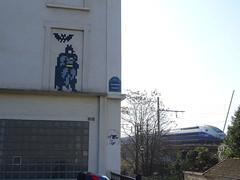 PA_1261 (antoineallain) Tags: pa1261 batman invader spaceinvader invaderwashere paris mosaic pixel streetart