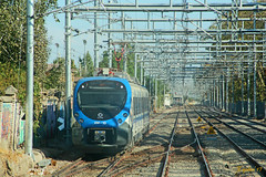 Sí!, Comenzó ...! (Rodrigo yañez) Tags: metrotren nios nos xpress xtrapolis modular alstom chile grupo efe tren central