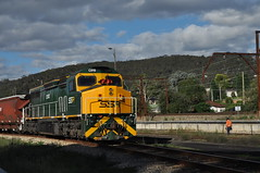 C510 Lithgow (highplains68) Tags: ausaustralianswnewsouthwales lithgow c510 ssr shunt eskbank old yard