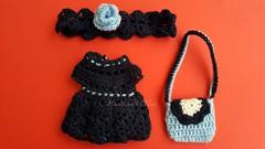 (Martina&Chloè_Blythe) Tags: azul crochet bolso muñeca blythe manualidades interior
