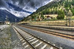 Railway Station Mallnitz-Obervellach - Austria (R.Smrekar-CH) Tags: railway hdr perspektive d750 000100 smrekar austria