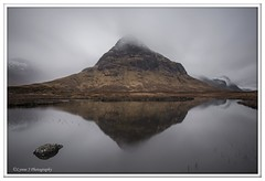 Misty mountain (Lynne J Photography) Tags: icm mountain loch lachan na fola torren lochan