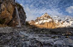 Oeschinensee Waterfall (MC-80) Tags: oeschinensee kandersteg waterfall