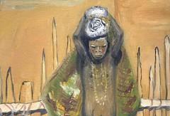 La fame. (Missiroli-Gianluca) Tags: fame tribù colore africa sole carestia dipinto olio