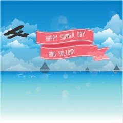 free Vector Happy Summer Day & Holiday Background (cgvector) Tags: amp 19401980 abstract aeroplane background badge ball banner beach bubble colors computer contemporary cool copy crabs day design doodle drawing drawn element frame fun happy hello holiday hot icon imagery labels nautical pattern placard retro revival ribbon rope sailboat sea season sketch space speech starfish summer sun text travel umbrella vacations vector vessel water wave