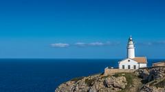 Balearic Islands Spring 2017 (HeinzDS) Tags: spain eu mallorca balearic islands lighthouse leuchtturm meer sea bluesky