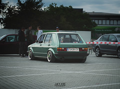 LOW BUDGET MEETING 2016 (JAYJOE.MEDIA) Tags: vw golf mk1 volkswagen low lower lowered lowlife stance stanced bagged airride static slammed wheelwhore fitment ozwheels
