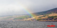 Rainbow at Loch Ness (PaulSher84) Tags: rainbow lochness nessie lochnessmonster inverness scotland invernessshire 2017