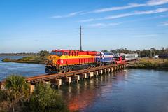 9367 (Travel By Train) Tags: fec florida east coast emd gp40 ge es44c4 es44