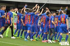 DSC_0837 (Noelia Déniz) Tags: barça filial barcelona fcb masía prat culé azulgrana mini campeones blaugrana segundadivisiónb