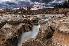 Río Tastavins (Martika64) Tags: river rocks water sky clouds sunset nature naturephotography color colorimage strata matarranya ☯laquintaessenza☯ greaterphotographers