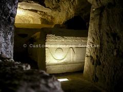 SOBK_051102_0506 (Custody of the Holy Land - Photo Service (CPS)) Tags: bethshearim holyland nationalpark terrasanta terresainte judaism sarcophagus talmudicperiod tomb tombs