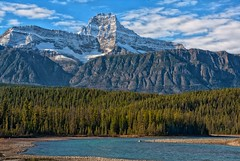 Mt. Christie (Philip Kuntz) Tags: mtchristie athabascariver icefieldsparkway jaspernationalpark jasper alberta canada peaks