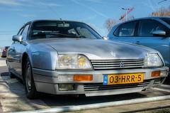 Citroën CX 25 GTi Turbo 2 (Skylark92) Tags: nederland netherlands holland amsterdam noordholland oost east zeeburgereiland pr zuiderzeeweg citroen cx 25 2500 gti turbo 2 phase2 1986 ford escort 16 rs 1987 modified