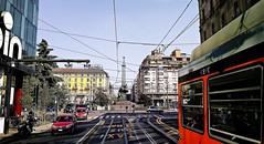 MILANO - Piazza 5 Giornate (Gi@nni B.) Tags: milano milan milanstreetcar tramdimilano tram