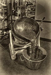 """""""Toffee"""" Time - Mmm!! (D.R.Williams) Tags: calderdale halifax hdr toffee museum blackwhite mono monochrome quality street mackintosh sweets"""