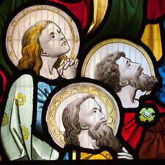 St Andrew's Church, Much Hadham...(Explored - thanks!) (Lady Haddon) Tags: muchhadham stainedglass hertfordshire apr2017 2017 standrewschurch