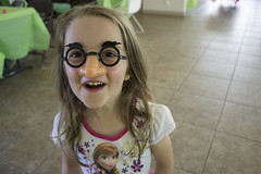 Cute Girl (evaxebra) Tags: luna silly girl glasses nose eyebrows groucho marx