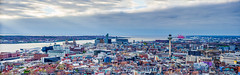 Liverpool Panorama (explore) (phat5toe) Tags: liverpool merseyside cityscape panorama rivermersey docks waterfront nikon d7000