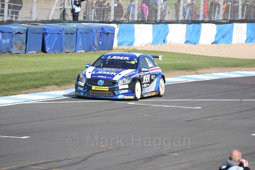 Aiden Moffat during qualifying during the BTCC Weekend at Donington Park 2017: Saturday, 15th April