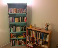 Downsized (giveawayboy) Tags: book books bookcase bookshelf downsize
