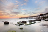 0S1A5401enthuse (Steve Daggar) Tags: catherinehillbay sunset seascape landscape nswcentralcoast gosford wharf jetty firetwirling steelwooltwirling firespinning