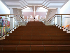 Museum Ludwig, Köln (Werner Schnell Images (2.stream)) Tags: ws museum ludwig köln cologne treppe stairs stairway gilbertgeorge