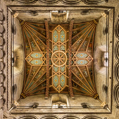 St Davids Cathedral Tower ceiling (Graham Dash) Tags: pembrokeshire stdavids stdavidscathedral cathedrals ceilings interiors