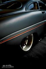 Black Satin (Hi-Fi Fotos) Tags: black satin paint mercury restomod hotrod custom kustom worldofwheels chopped slammed nikon d5000 hififotos hallewell