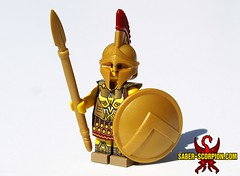 Imperial General (Saber-Scorpion) Tags: lego minifig minifigures moc brickwarriors spartan roman greek rome ancient warrior brickforge javelin spear empire imperial elderscrolls tes tesv theelderscrolls skyrim oblivion