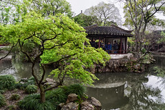 In the garden (marko.erman) Tags: flowers garden suzhou jiangsu china harmony unesco world heritage site classical sony jardin architecture tree water green worldheritagesite