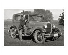 Vehicle Collection (7852) - Ford (Steve Given) Tags: familycar motorvehicle automobile ford hunter rifle iowa 1920s