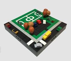 Micropolis Soccer Field (dzambito42) Tags: lego micropolis soccer field park playground micro scale