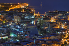 Tai O Stilt Houses, Hong Kong (mikemikecat) Tags: tai o stilt houses 大澳棚屋 taio lantau island outlying islands 香港 大嶼山 大澳 日落 fe70200mf4goss sel70200g sony a7r twilight nightscape nightview night 夜景 mikemikecat