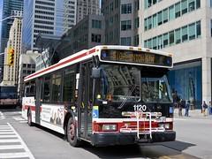 Toronto Transit Commission 1120 (YT | transport photography) Tags: ttc toronto orion vii 7 bus transit commission