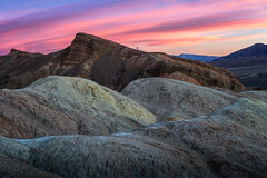 Morning Tones (Ryan_Buchanan) Tags: death valley ryan buchanan exposurescape desert color hiker sunrise zabriskie point