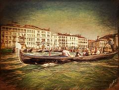Venice (JAKE473) Tags: venitian gondola tourists