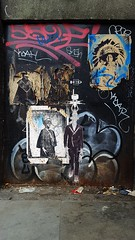 Collage (S D Fowles) Tags: isthisthelife 2017 art streetart collage stencilart spraypaint aldgate london mylondonlife