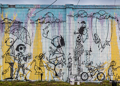 Architecture/Mural (SoonerChick14) Tags: mural architecture muralfest66 cy365 potd