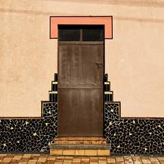 The Shape of Things (Eric@focus) Tags: dwwg door colour mosaic greatphotographers original shape square famoussquarecaptures