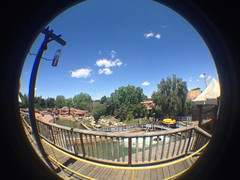 The Far West (CoasterMadMatt) Tags: park parque espaa fish west eye primavera port de lens photography amusement spring spain foto distorted photos may fisheye mayo far themepark aventura espaol fisheyelens atracciones iphone fotografa fotografas farwest portaventura parquetemtico 2013 grandcanyonrapids coastermadmatt uploaded:by=flickrmobile flickriosapp:filter=nofilter