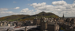 Arthurs Seat (tompickwellphotography) Tags: scotland edinburgh princesstreet arthursseat scottmonument northbridge