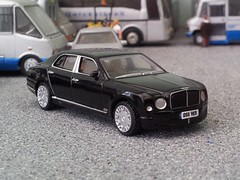 The Mulsanne straight (quicksilver coaches) Tags: model oo bentley diecast 176 mulsanne oxforddiecast