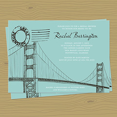 sanfranbridal (rocketgirls) Tags: shower san francisco invitation bridal