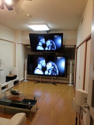 インパクトのある部屋と題した写真