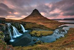 Angry Cloud - Snæfellsnes, Iceland (orvaratli) Tags: cloud mountain fall river landscape photo waterfall iceland long exposure pyramid peak arctic coastal kirkjufell snæfellsnes grundarfjörður kirkjufellsfoss