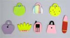 Ladies bags assorted 3.5cm (sweetinspirationsaustralia) Tags: cupcaketoppers